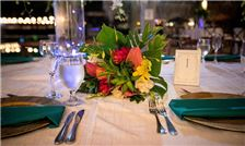 Margaritaville Beach Resort Playa Flamingo - Floral Arrangement at Wedding Dinner
