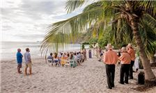 Margaritaville Beach Resort Playa Flamingo - Wedding Guests on the Beach