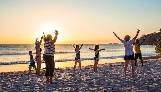 Enjoy Beach Activities in Flamingo Beach Resort, Cost Rica