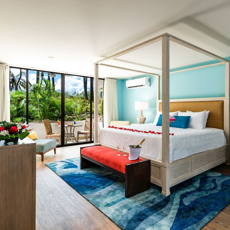 Rooms at Flamingo Beach Resort, Cost Rica