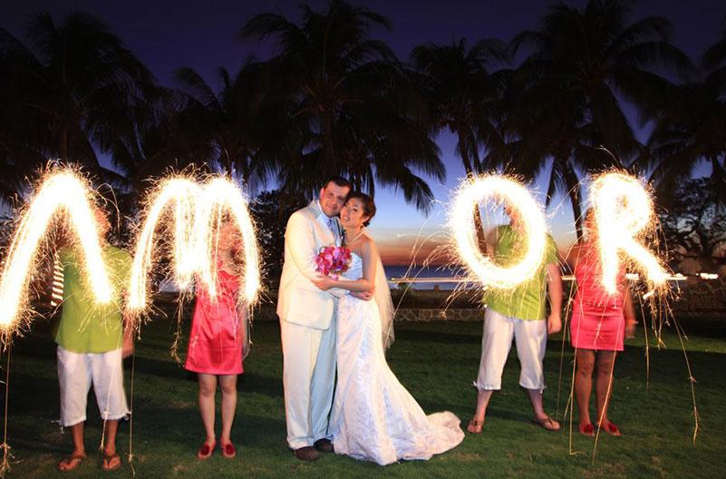 Instalaciones para bodas y lunas de miel en Costa Rica - Resort de Playa