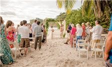 Margaritaville Beach Resort Playa Flamingo - Bride and Groom Exchange Vows