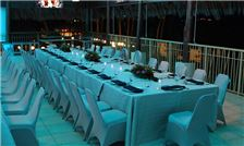 Margaritaville Beach Resort Playa Flamingo - Wedding Dinner Set Up