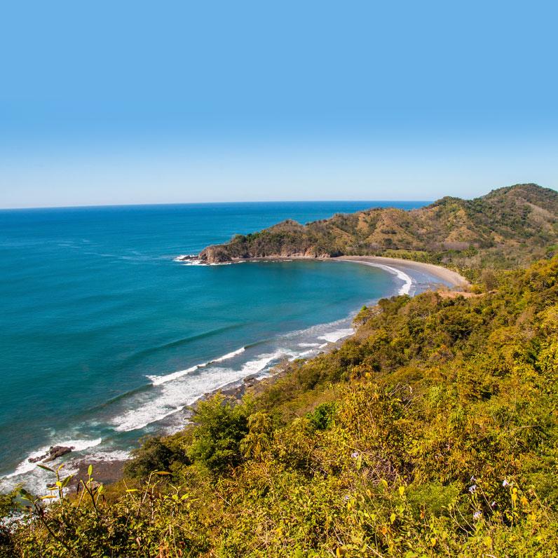 Costa Rica Playa Brasilito Beach