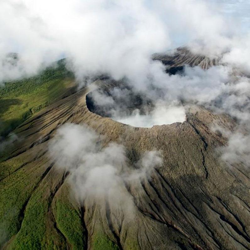 Parque Nacional Rincon de la Vieja in Costa Rica