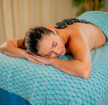 Onzen Spa Hot Rock Massage