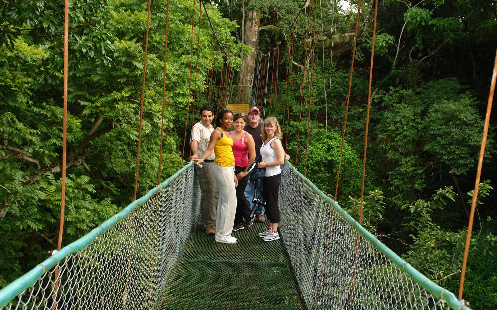 Selvatura Hanging Bridges enjoyment of Monteverde