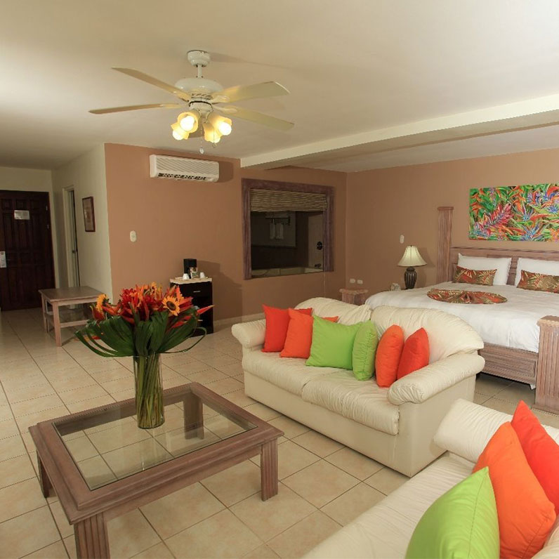 Flamingo Beach Resort, Cost Rica Family Standard Room