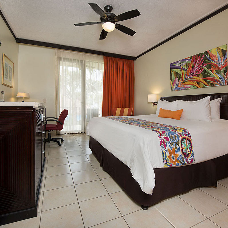 Flamingo Beach Resort, Cost Rica Standard Rooms