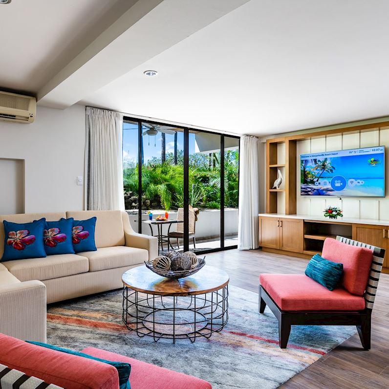 Rooms at Flamingo Beach Resort, Cost Rica