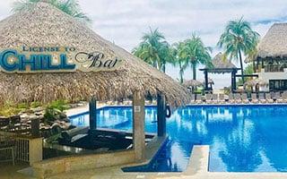 Magallanes Pool Bar at Key West, Florida