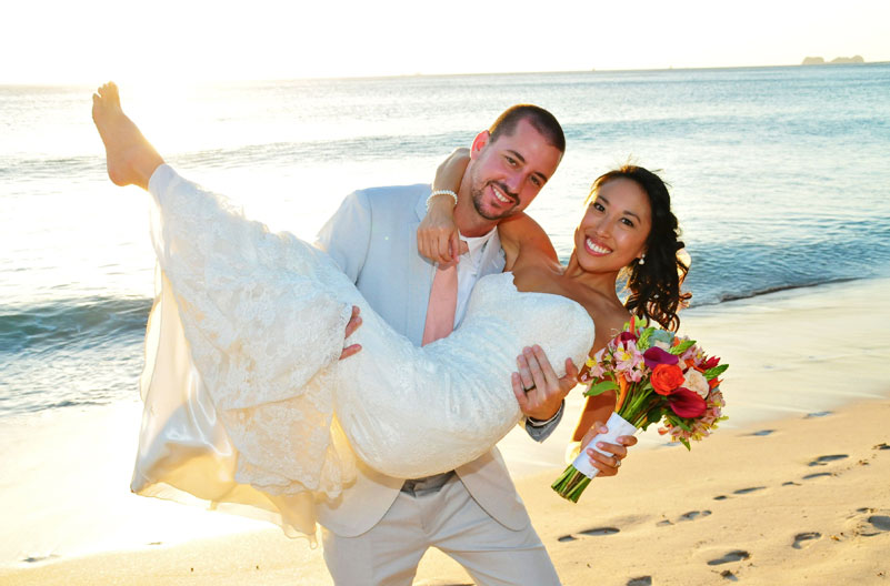 Request for Weddings Proposal at Flamingo Beach Resort, Cost Rica